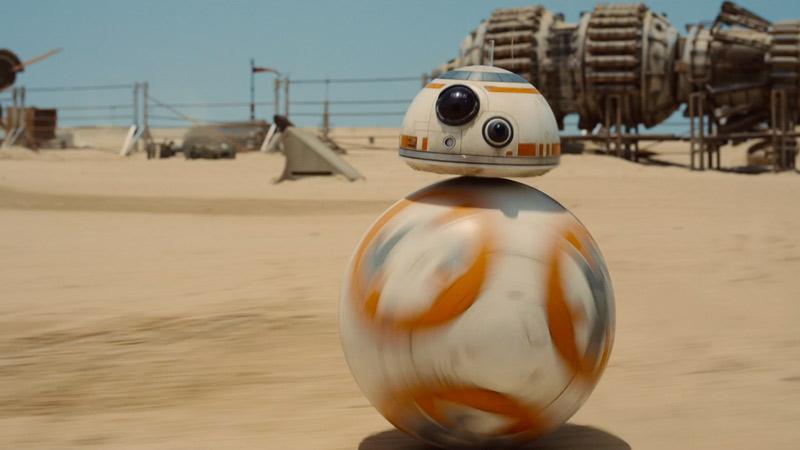BB-8 - Coming soon to Disney World and Disneyland