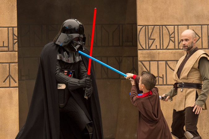 Star Wars - Jedi Training Academy: Trials of the Temple - Hollywood Studios Attraction