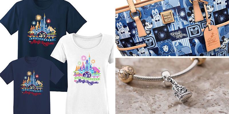 Disney World - 45th Anniversary Merchandise Preview
