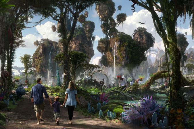Pandora - World of Avatar Concept Art - Walt Disney World