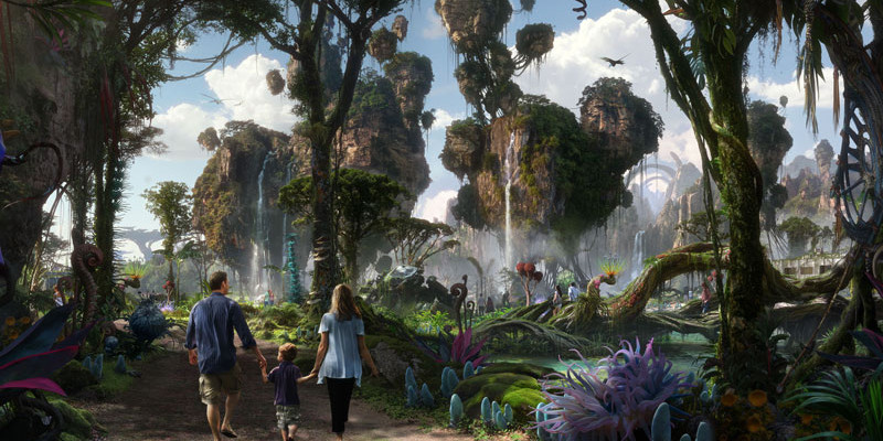Pandora - World of Avatar Concept Art - Walt Disney World