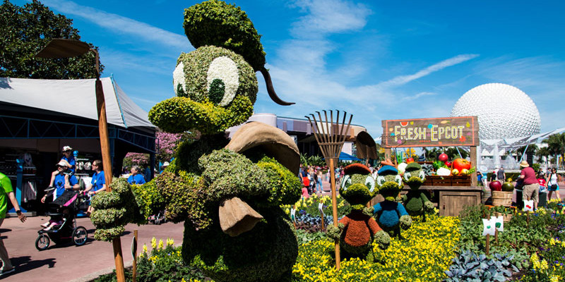Topiaries at the Epcot Flower and Garden Festival