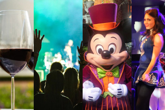 Disney World - Fall Travel Goals