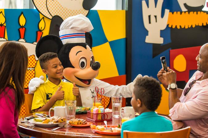 Chef Mickey - Disney World Dining