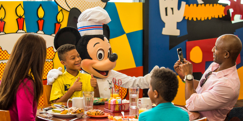 Chef Mickey - Disney World Dining