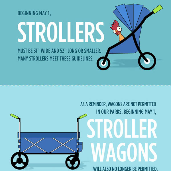Disney World and Disneyland - New Stroller Rules