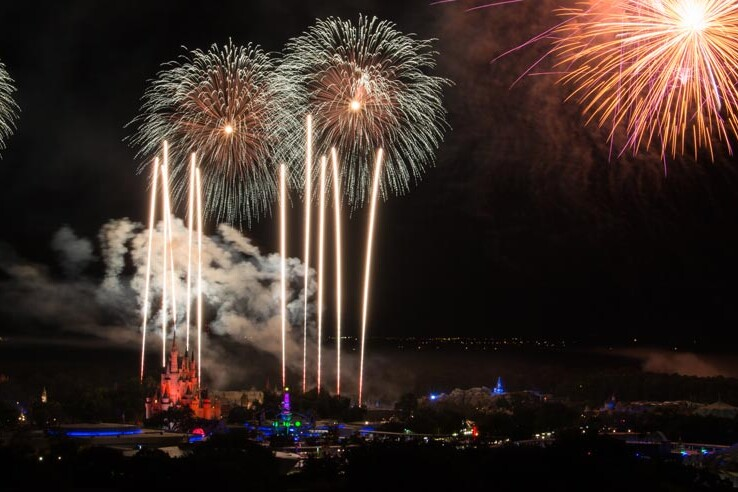 Fireworks Over Magic Kingdom - Disney World Tips