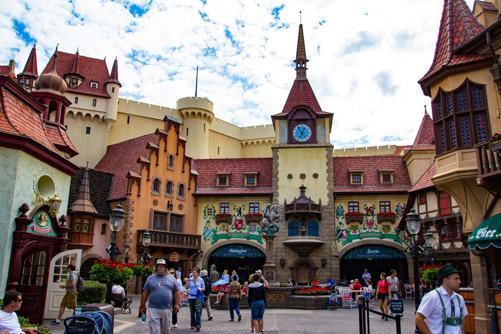 Germany - Epcot Attractions