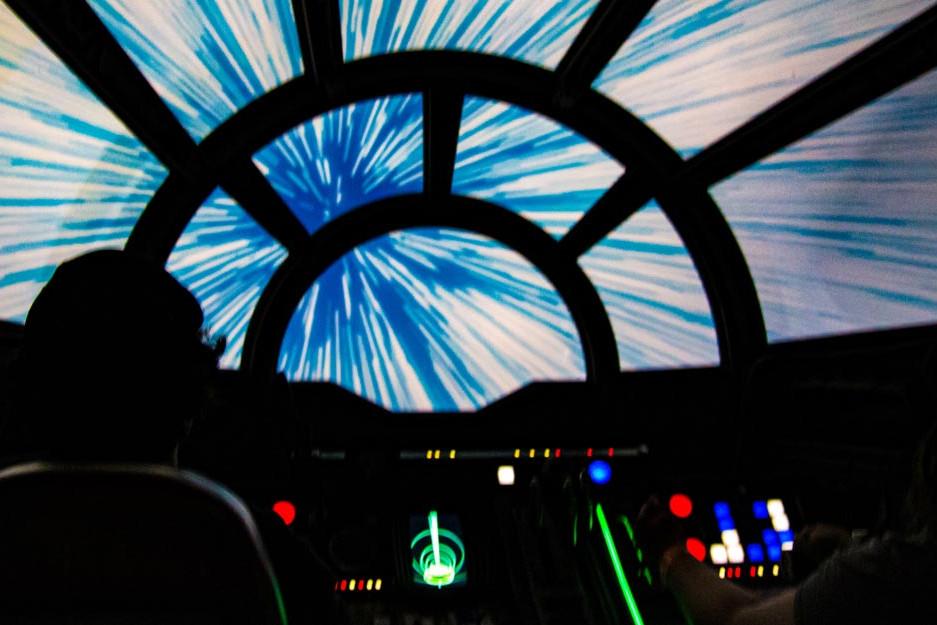 Millennium Falcon: Smugglers Run - Star Wars Galaxy's Edge Ride - Hollywood Studios Attraction