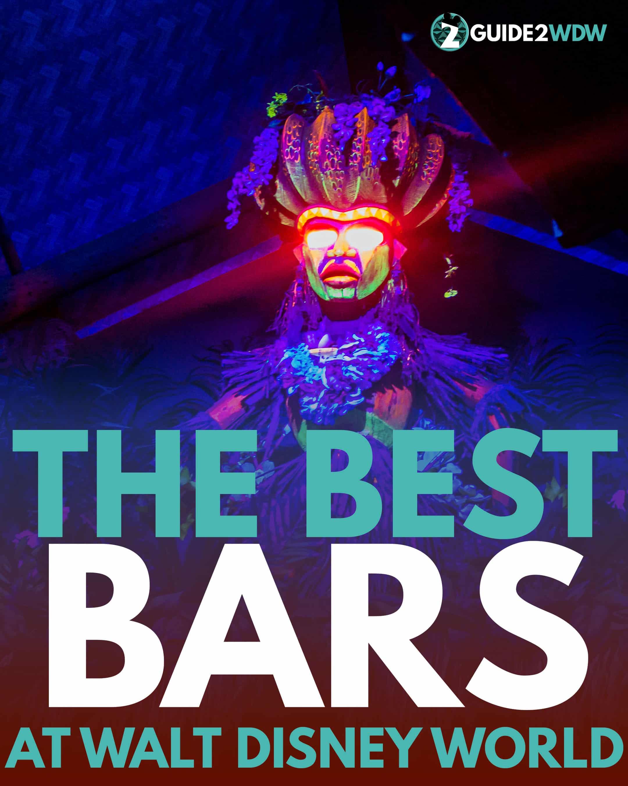 The Best Bars at Walt Disney World