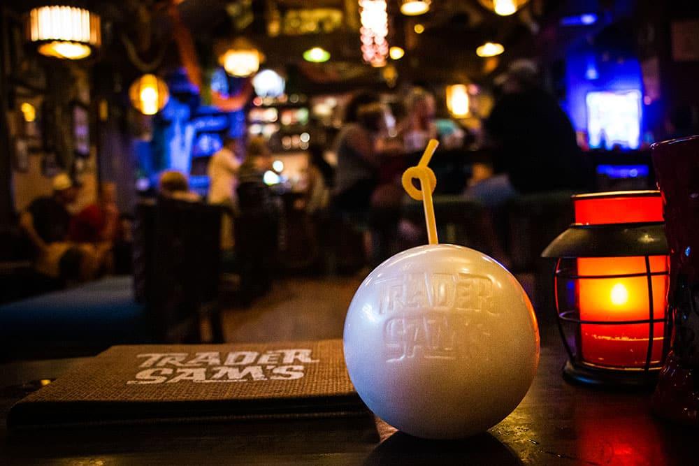 Trader Sams Grog Grotto Tiki Bar 2 - Disney World's Best Bars - Guide2WDW