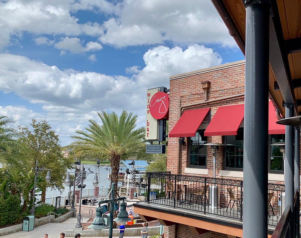 Wine Bar George Exterior - Disney World's Best Bars - Guide2WDW