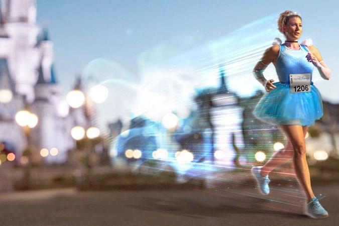 Cinderella runDisney promo at Walt Disney World