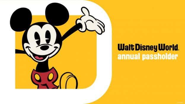 Disney World Annual Passholder Tickets