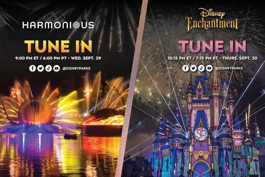 Disney World - Harmonious & Enchantment - Livestreams WDW