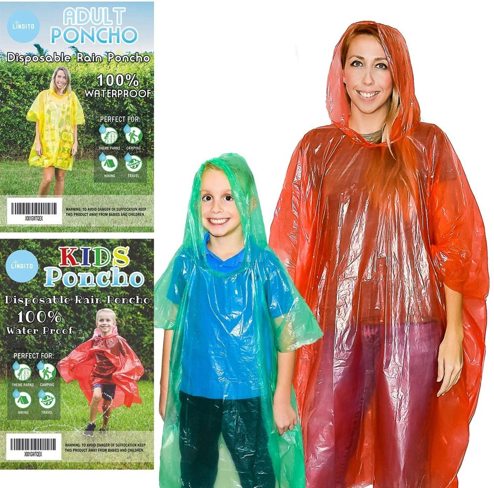 Family Poncho Pack - Disney World Packing Essentials