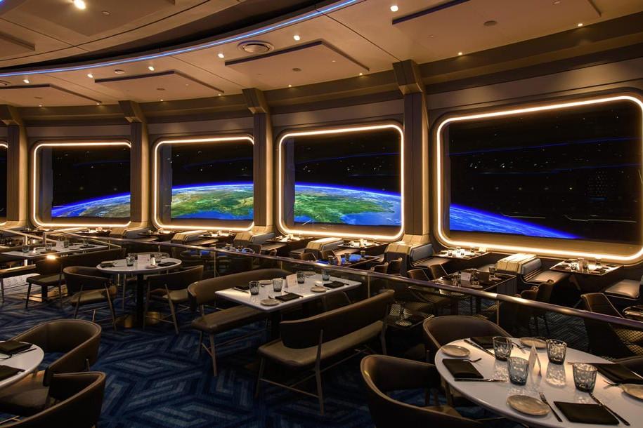Space 220 - Interior Epcot Restaurant