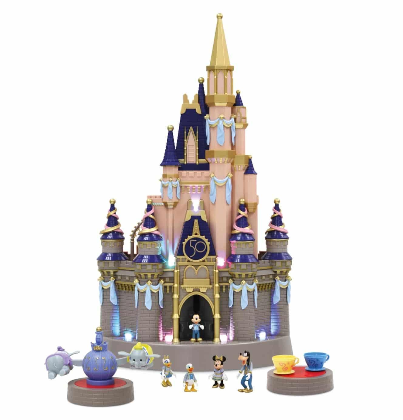 Cinderella Castle Playset - Disney World 50th Anniversary