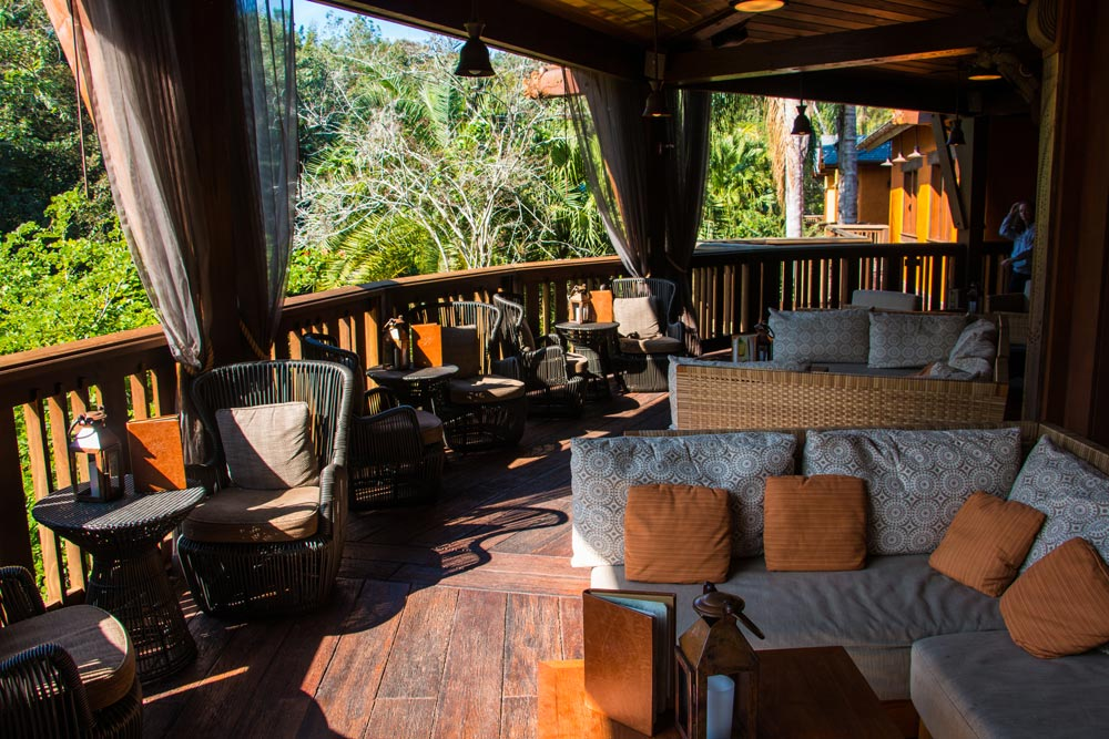 Nomad Lounge - Outdoor Dining at Disney World