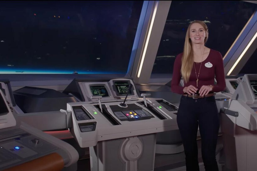 Star Wars: Galactic Starcruise Bridge - Disney World Hotel